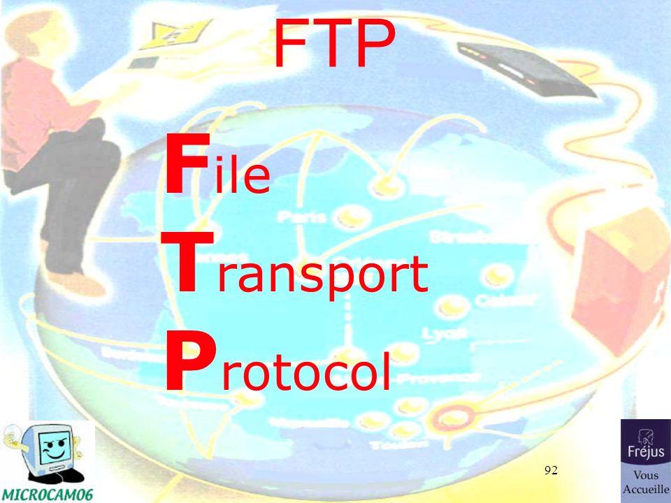 92 FTP F ile T ransport P rotocol