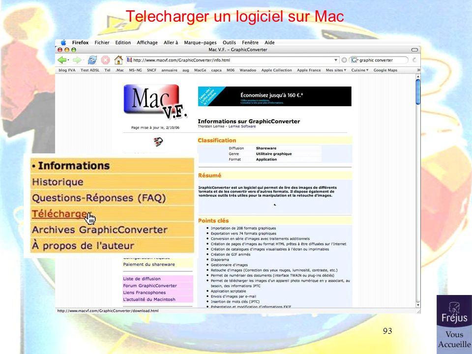 93 Telecharger un logiciel sur Mac