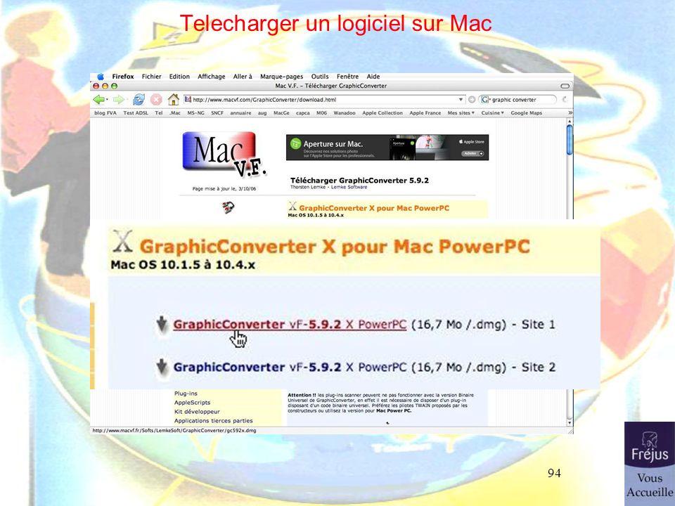 94 Telecharger un logiciel sur Mac