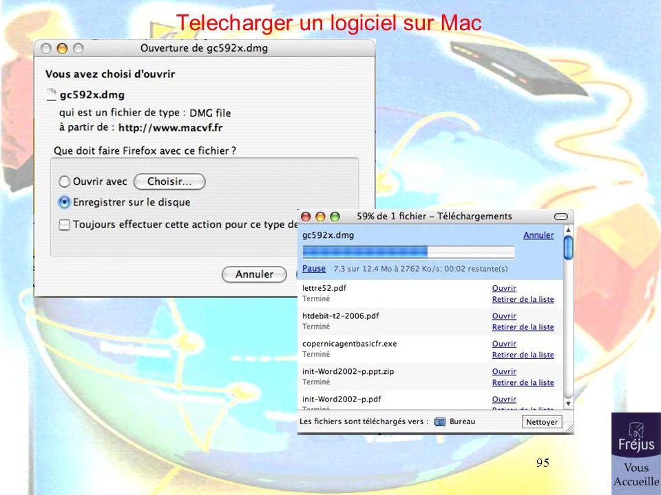 95 Telecharger un logiciel sur Mac