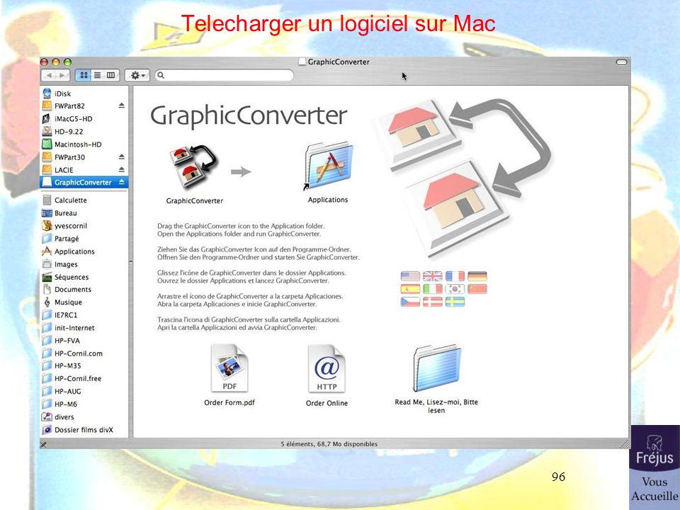 96 Telecharger un logiciel sur Mac