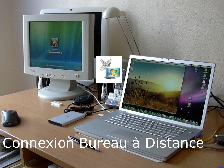 Connexions aux PC sous Windows Vista