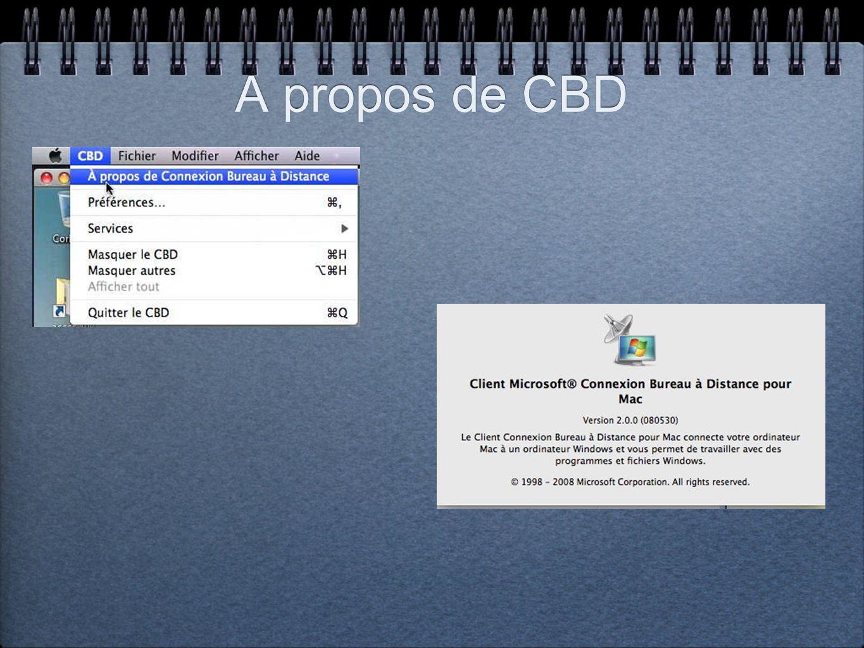 Connexions du Mac à 2 PC sous Windows Vista