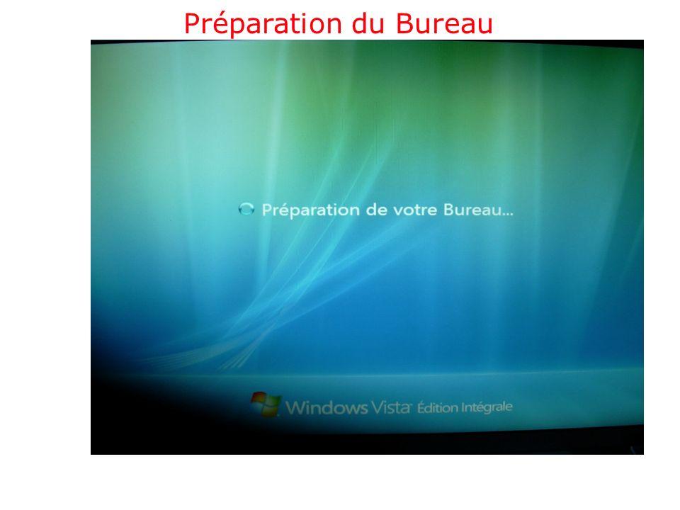 Préparation du Bureau