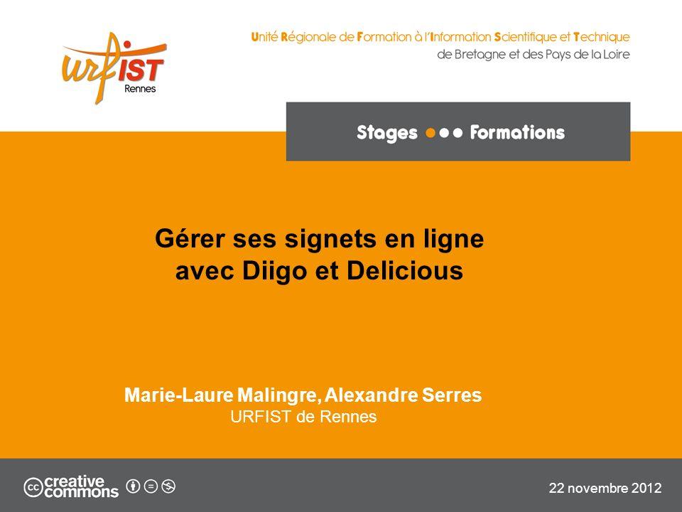 22 URFIST de Rennes, 2012