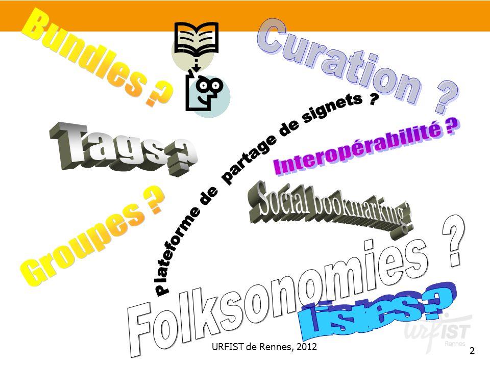13 Plusieurs outils Plateformes généralistes Plateformes académiques http://delicious.com/ http://www.diigo.com/ http://blogmarks.net/ http://www.pearltrees.com/ http://blinklist.com/ http://www.connotea.org/ http://www.bibsonomy.org/ http://www.instapaper.com/ Outils de bookmarking // outils de curation > Frontières floues http://www.scoop.it/ http://paper.li/ http://pinboard.in/