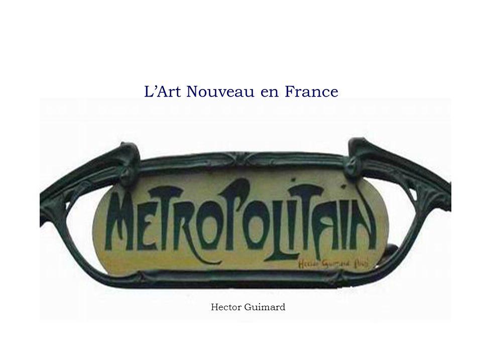 LArt Nouveau en France Hector Guimard