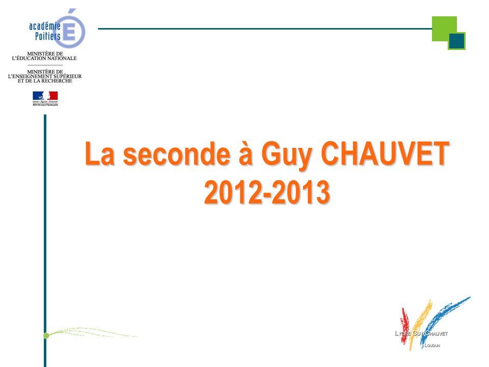 La seconde à Guy CHAUVET 2012-2013