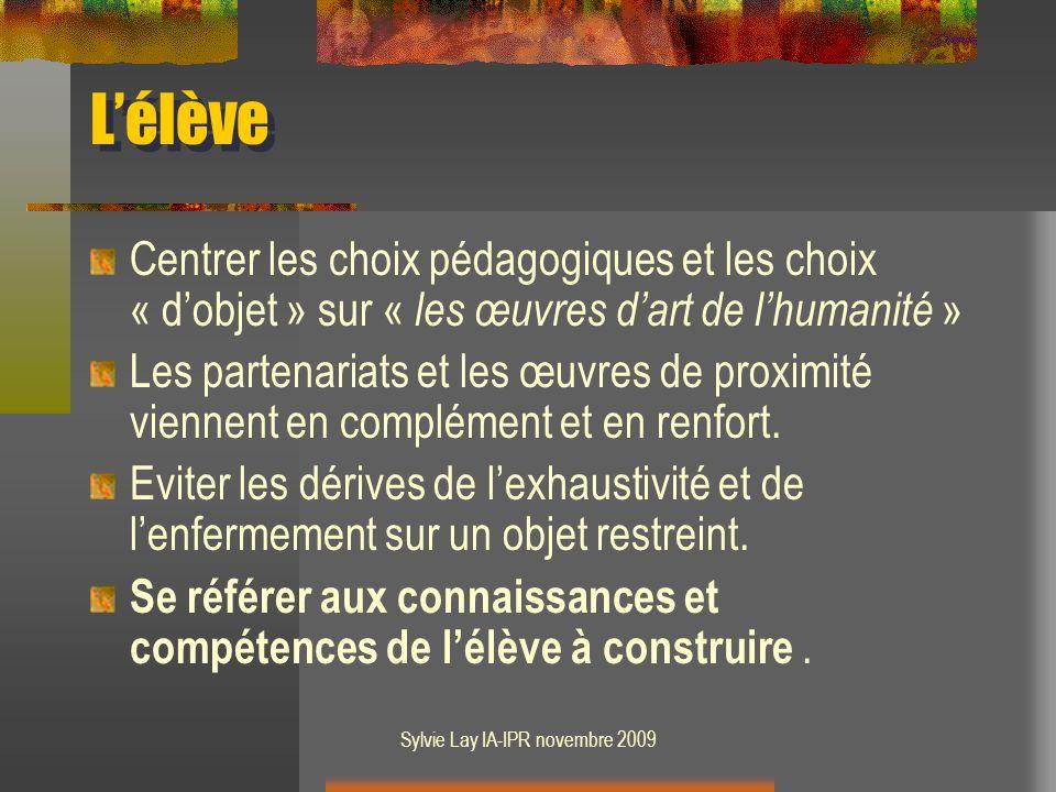 Sylvie Lay IA-IPR novembre 2009 En cinquième : Lâge dor de la peinture hollandaise, un exemple dobjet détude.