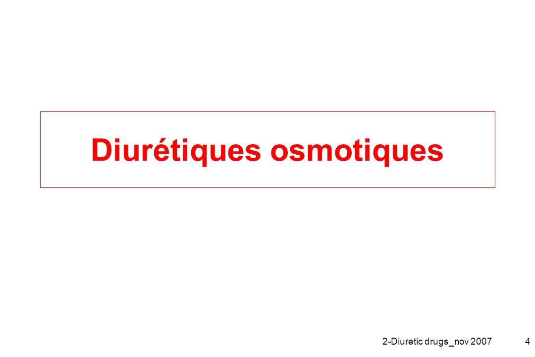2-Diuretic drugs_nov 20074 Diurétiques osmotiques