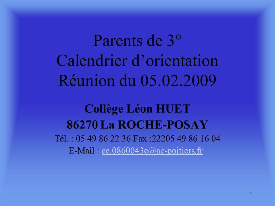 1 Collège Léon Huet Rue du IVéme zouaves 86270 La Roche-Posay : 05 49 86 22 36 : 05 49 86 16 04 Ce.08600043e@ac-poitiers.fr