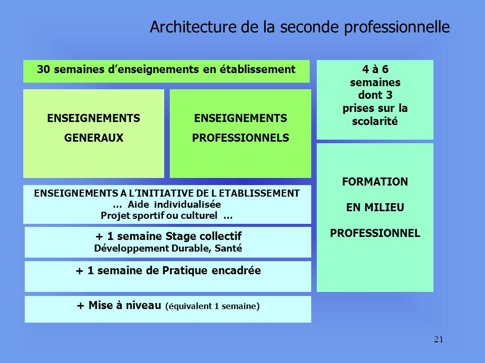 20 CHAMP PROFESSIONNEL DE LA PRODUCTION Seconde professionnelle Elevages Maréchal ferrant Cavalier lad jockey Soigneur animateur Production aquacole E