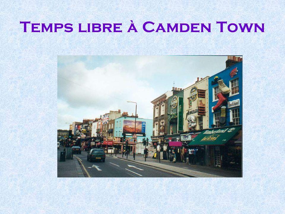 Temps libre à Camden Town