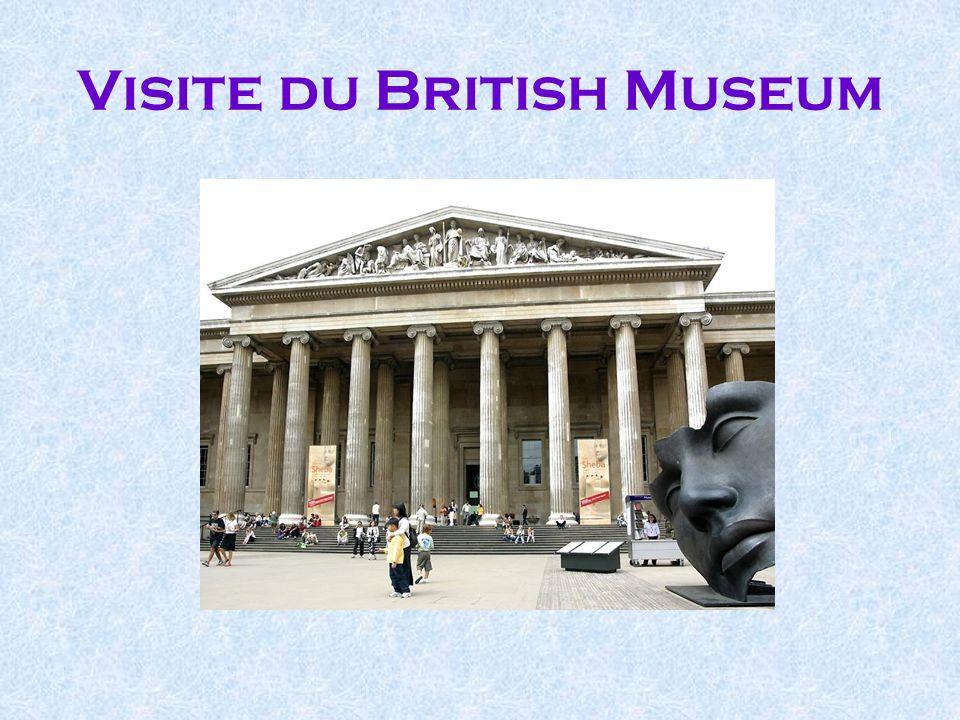 Visite du British Museum