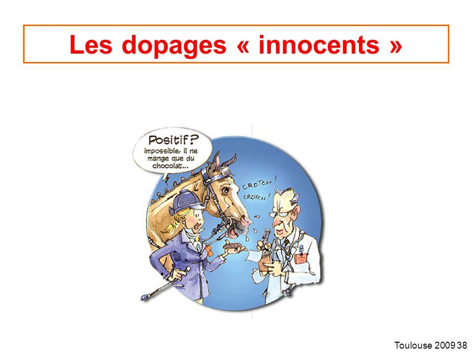 Toulouse 2009 38 Les dopages « innocents »