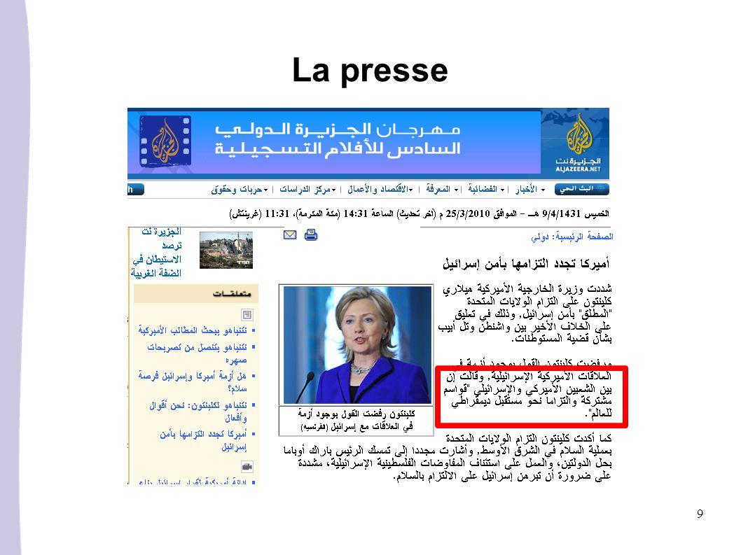 10 La presse