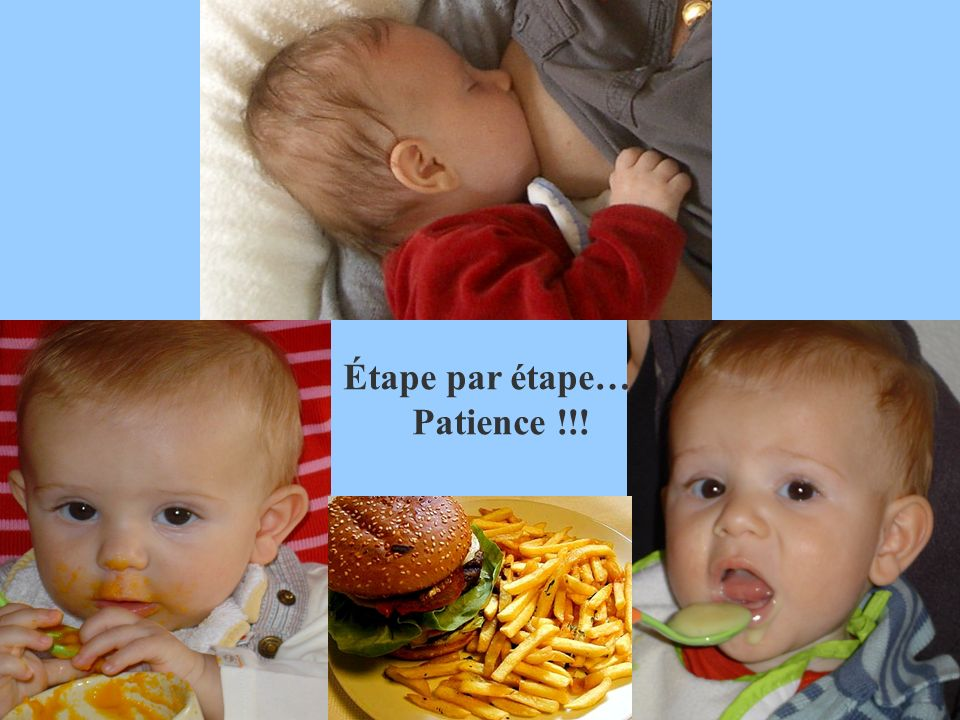 Étape par étape… Patience !!!