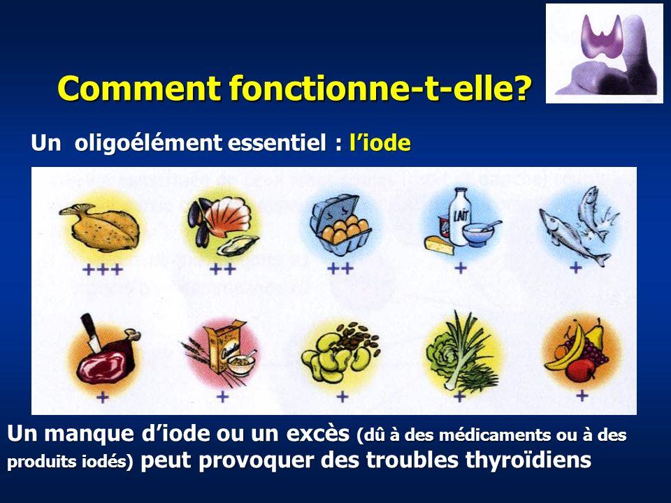 Epidémiologie des maladies de la thyroïde Hypertrophie thyroïdienne 10 à 14% Hypothyroïdie ou hyperthyroïdie avérée 1 à 2% Nodules thyroïdien palpable 4%, occulte 50% 95% des nodules sont bénins, 5% sont des cancers Cancers de la thyroïde 4.000 par an en France (contre 40.000 cancers du sein et 40.000 cancers de la prostate) soit 1% de lensemble des cancers.