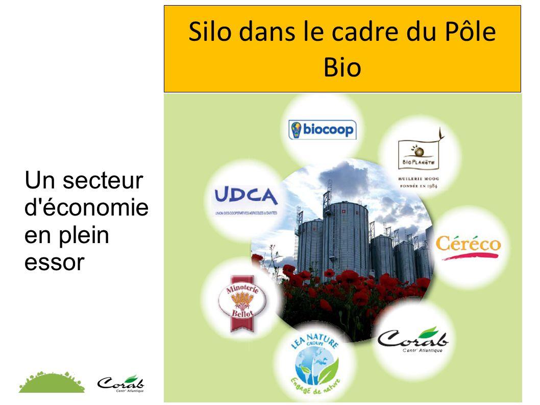 Silo dans le cadre du Pôle Bio Un secteur d'économie en plein essor