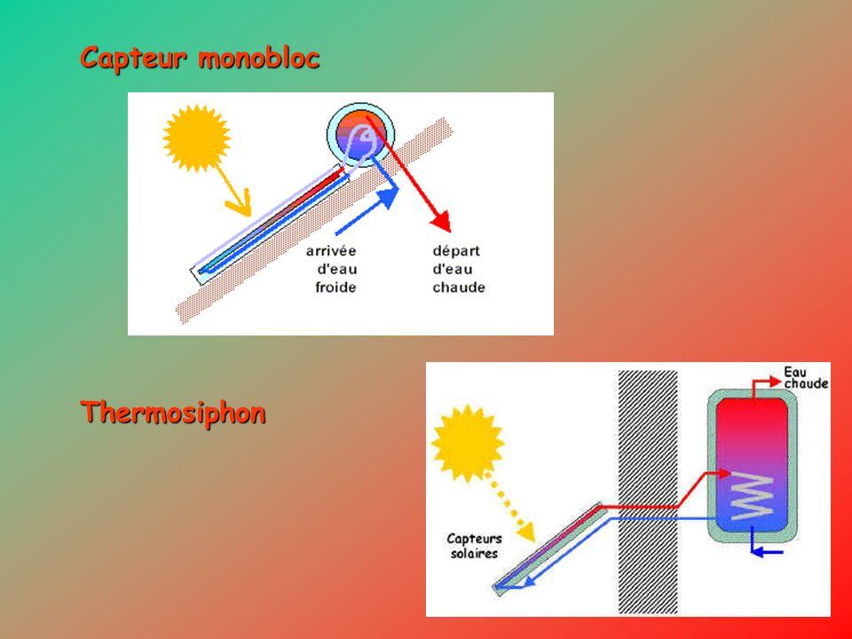 Capteur monobloc Thermosiphon