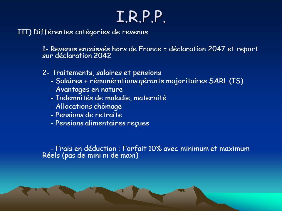 I.R.P.P. 5