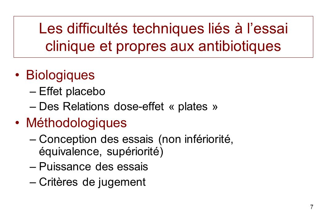 8 Antibiothérapie et effet placebo (guérison naturelle) Guérison spontanée Guérison sous antibiotique 0 50 100 1 2 % patients Time Prophylaxie, Métaphylaxie