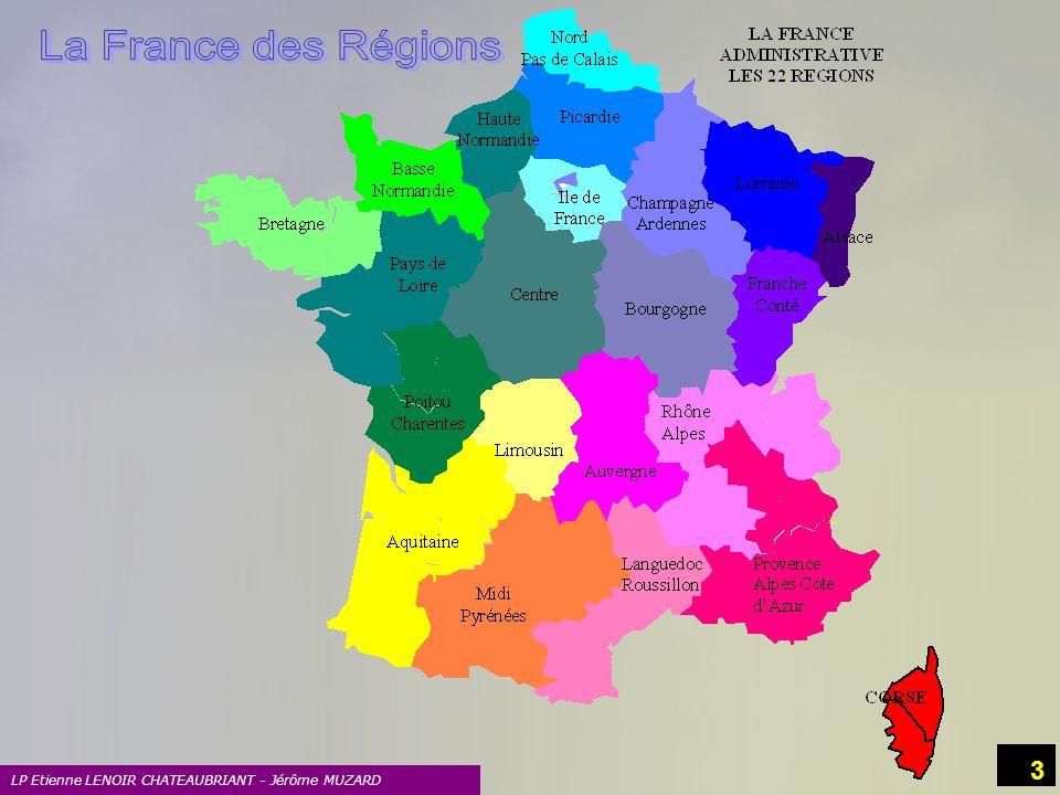 LP Etienne LENOIR CHATEAUBRIANT - Jérôme MUZARD 14 5 Le Centre LES PRODUITS TYPIQUES Poissons deau douce.
