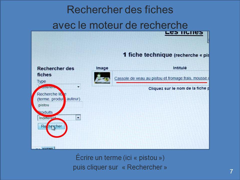 Le film est alors visible dans une fenêtre de la fiche ; on peut le voir également en plein écran 28 Affichage dune vidéo