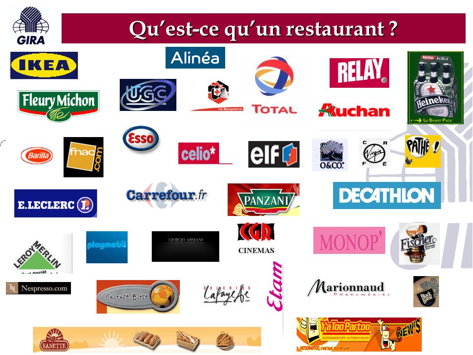 Quest-ce quun restaurant ?