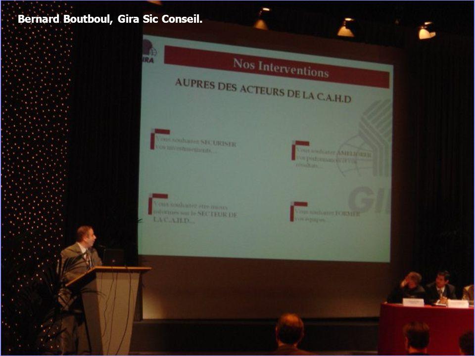 13 Bernard Boutboul, Gira Sic Conseil.