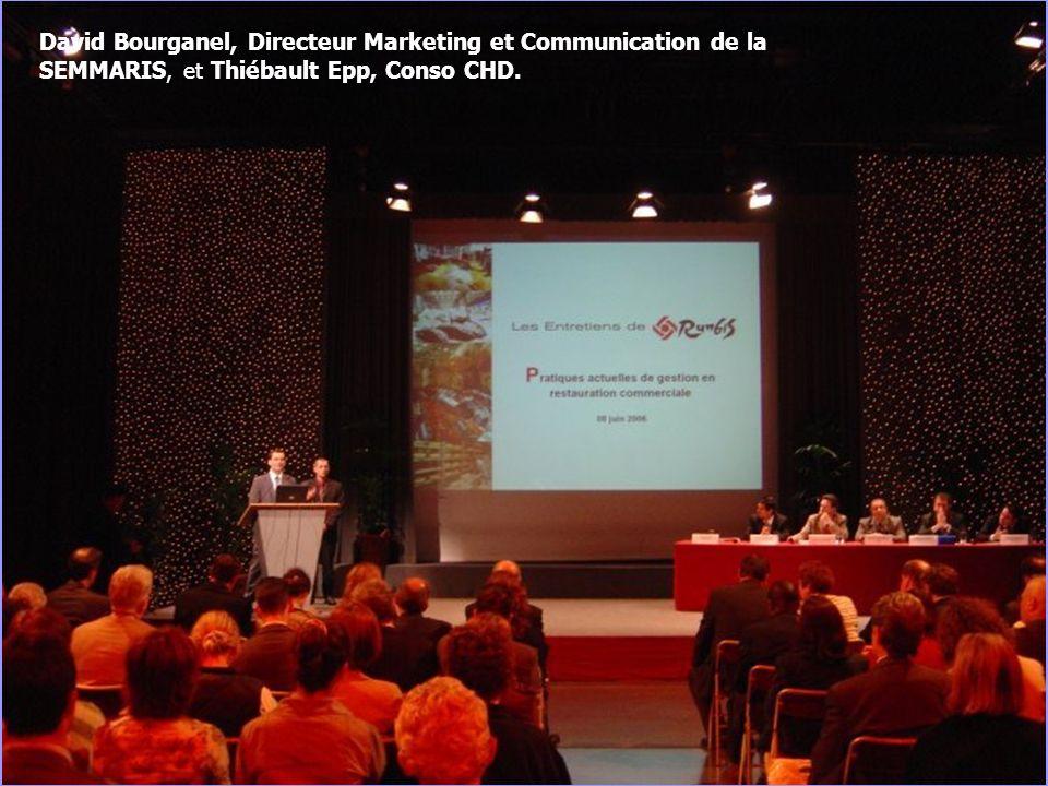 9 David Bourganel, Directeur Marketing et Communication de la SEMMARIS, et Thiébault Epp, Conso CHD.