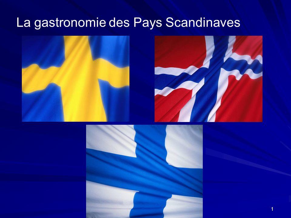 1 La gastronomie des Pays Scandinaves