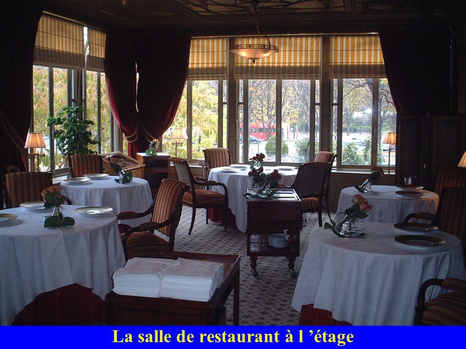La salle de restaurant à l étage