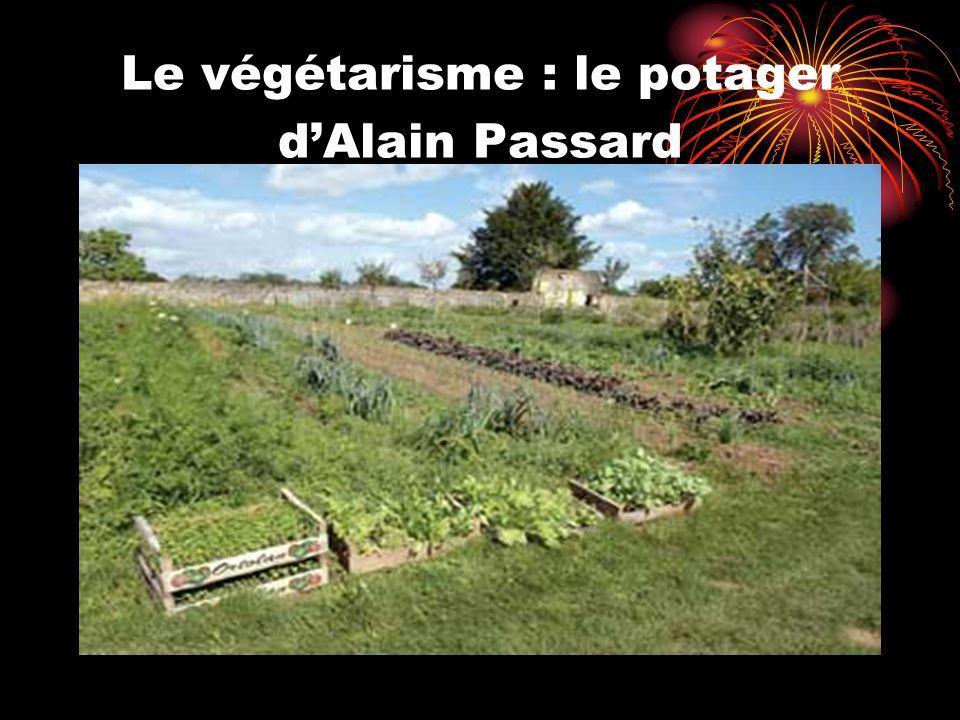 Le végétarisme : le potager dAlain Passard