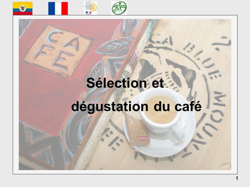 1 Sélection et dégustation du café