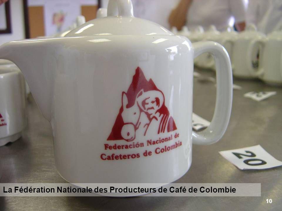 10 La Fédération Nationale des Producteurs de Café de Colombie