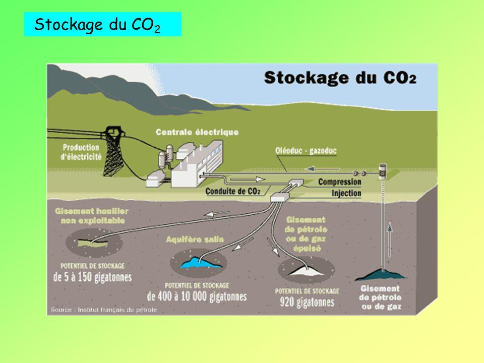 Stockage du CO 2