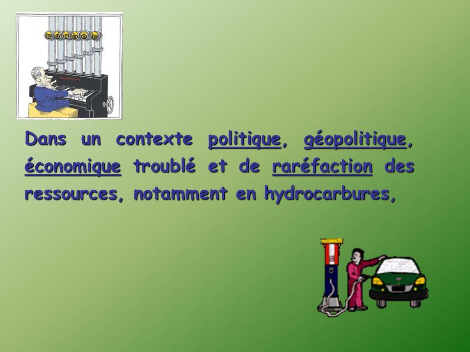 MondeFrance Structure consommation énergétique finale Charbon 4% * dont 17% dorigine nucléaire Pétrole 25% Charbon 25% Gaz 22% Charbon 4% Pétrole 44,5