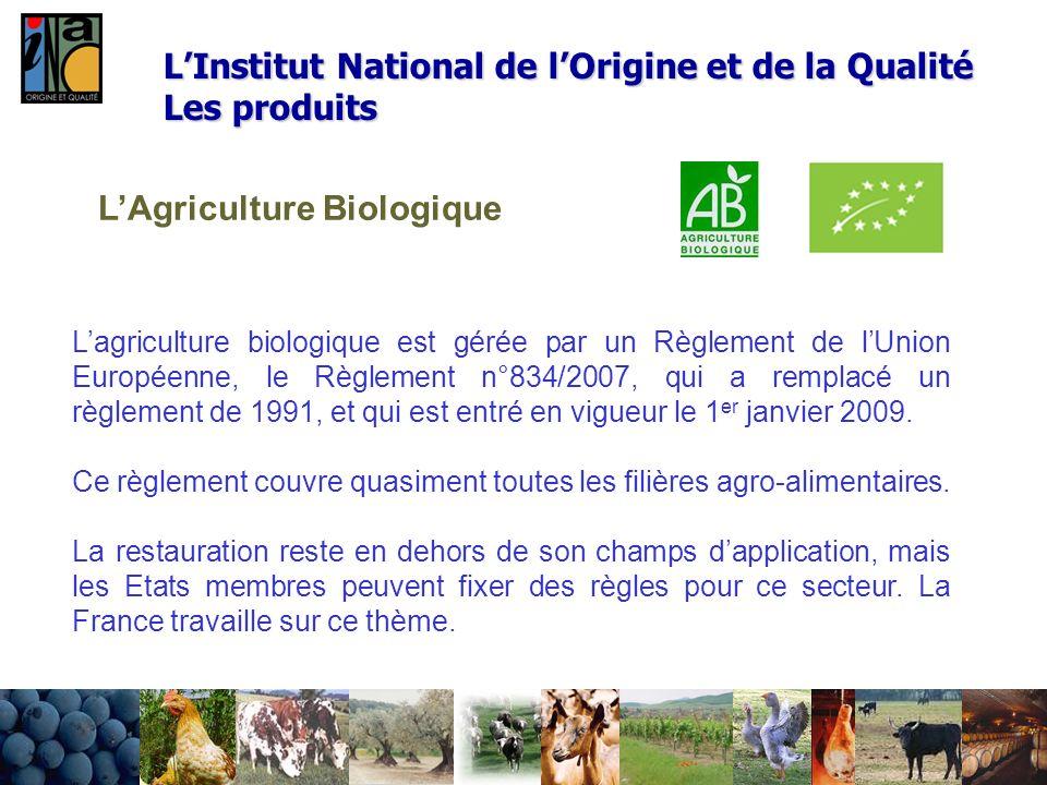 LAgriculture Biologique Lagriculture biologique est gérée par un Règlement de lUnion Européenne, le Règlement n°834/2007, qui a remplacé un règlement