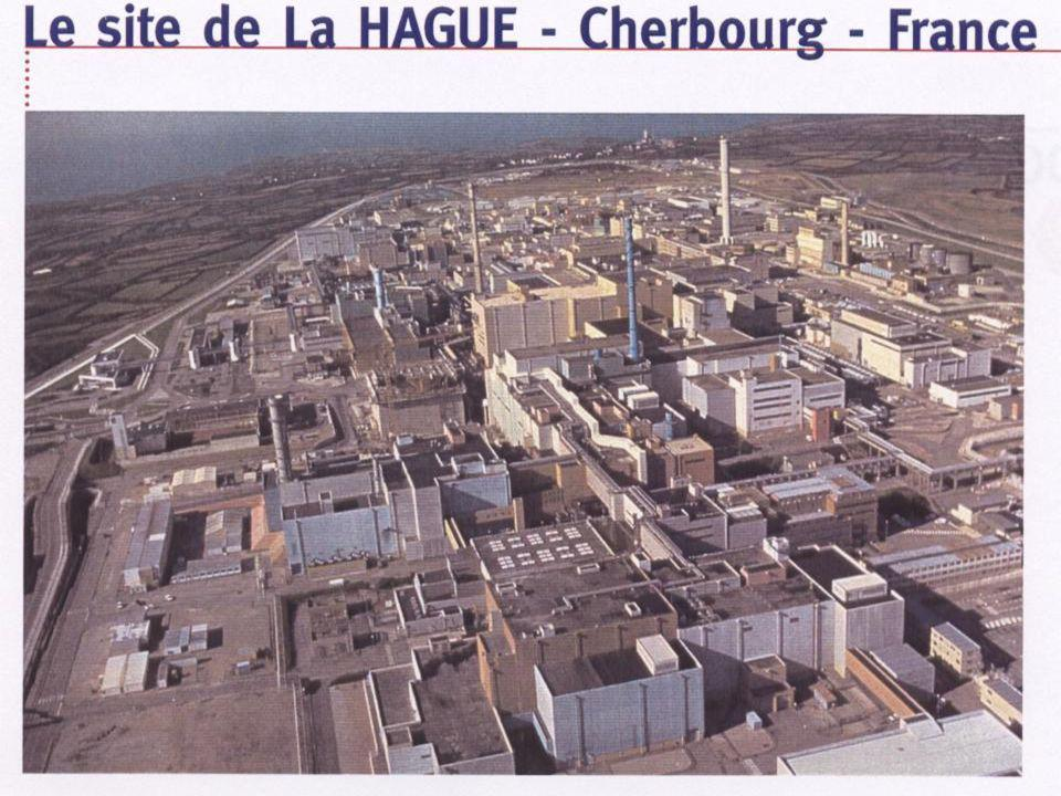 LA HAGUE : TRAITEMENT DU COMBUSTIBLE