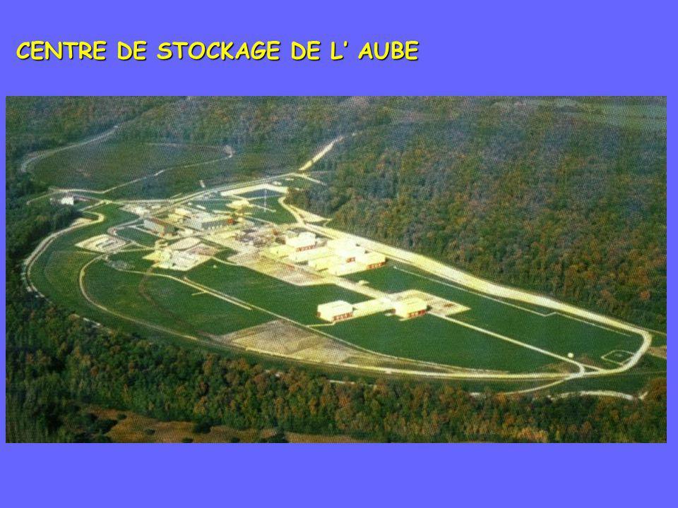 CENTRE DE STOCKAGE DE L AUBE