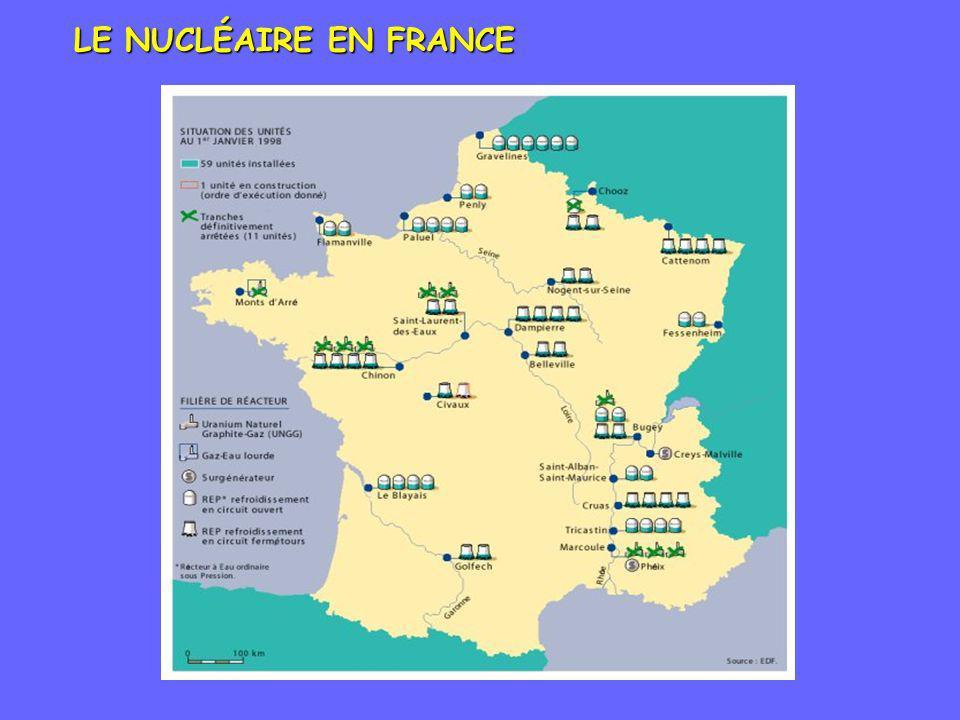 LE NUCLÉAIRE EN FRANCE