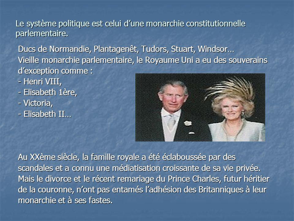 Ducs de Normandie, Plantagenêt, Tudors, Stuart, Windsor… Vieille monarchie parlementaire, le Royaume Uni a eu des souverains dexception comme : - Henr