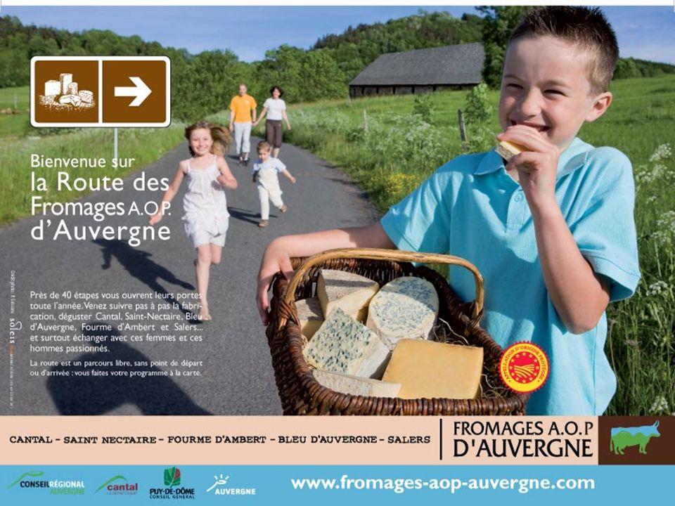 250 000 exemplaires de la carte de la Route des Fromages diffusés en 2009