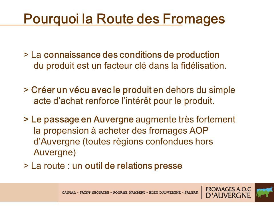 Pourquoi la Route des Fromages > La connaissance des conditions de production du produit est un facteur clé dans la fidélisation.