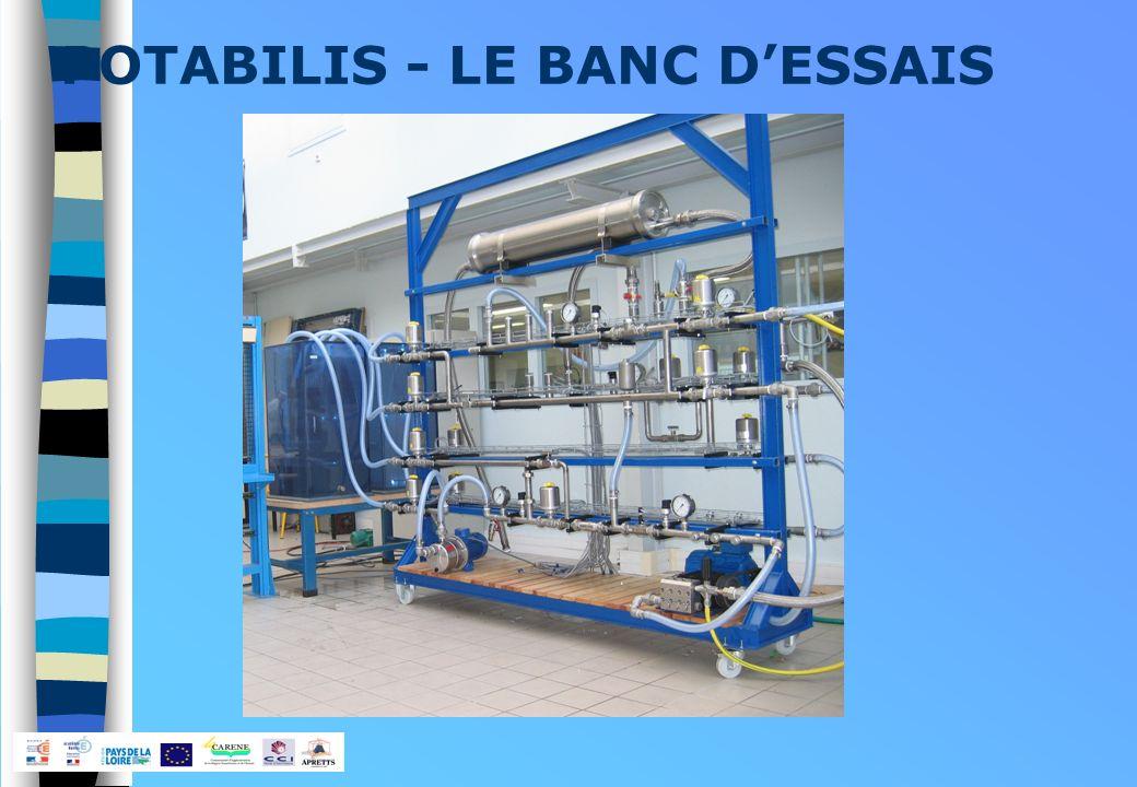 POTABILIS - LE BANC DESSAIS