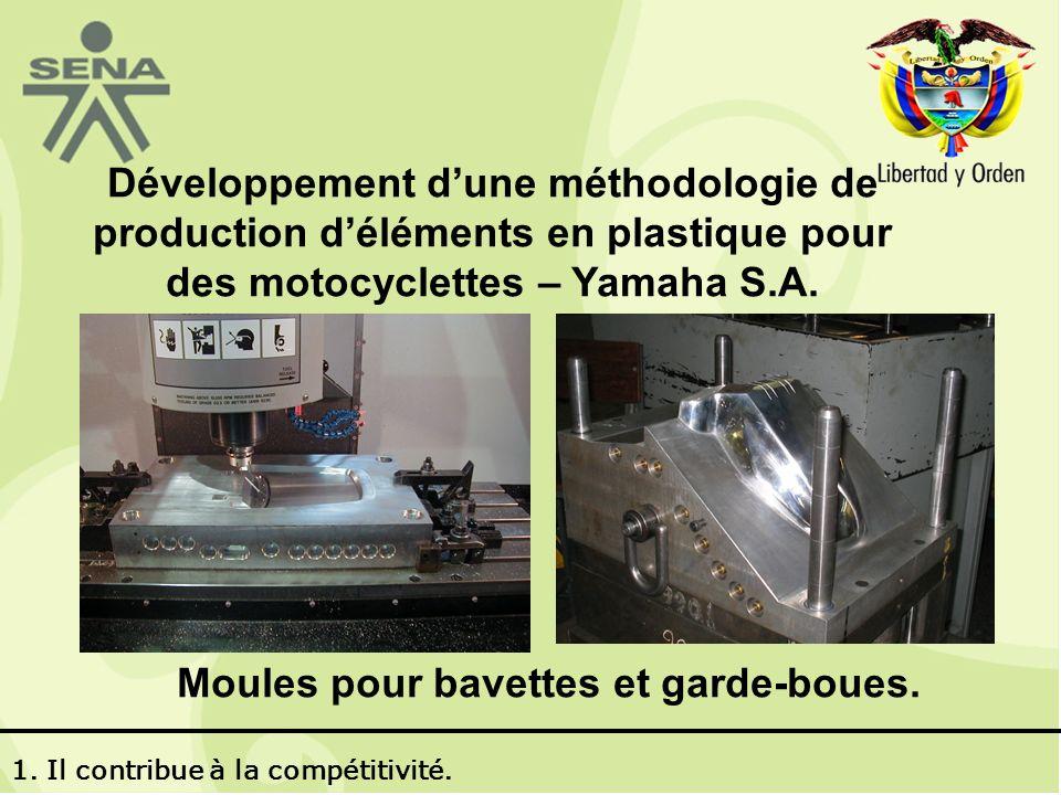 Développement dune méthodologie de production déléments en plastique pour des motocyclettes – Yamaha S.A.