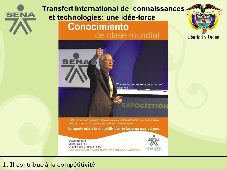 Transfert international de connaissances et technologies: une idée-force 1.