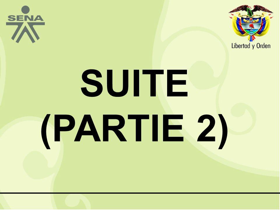 SUITE (PARTIE 2)