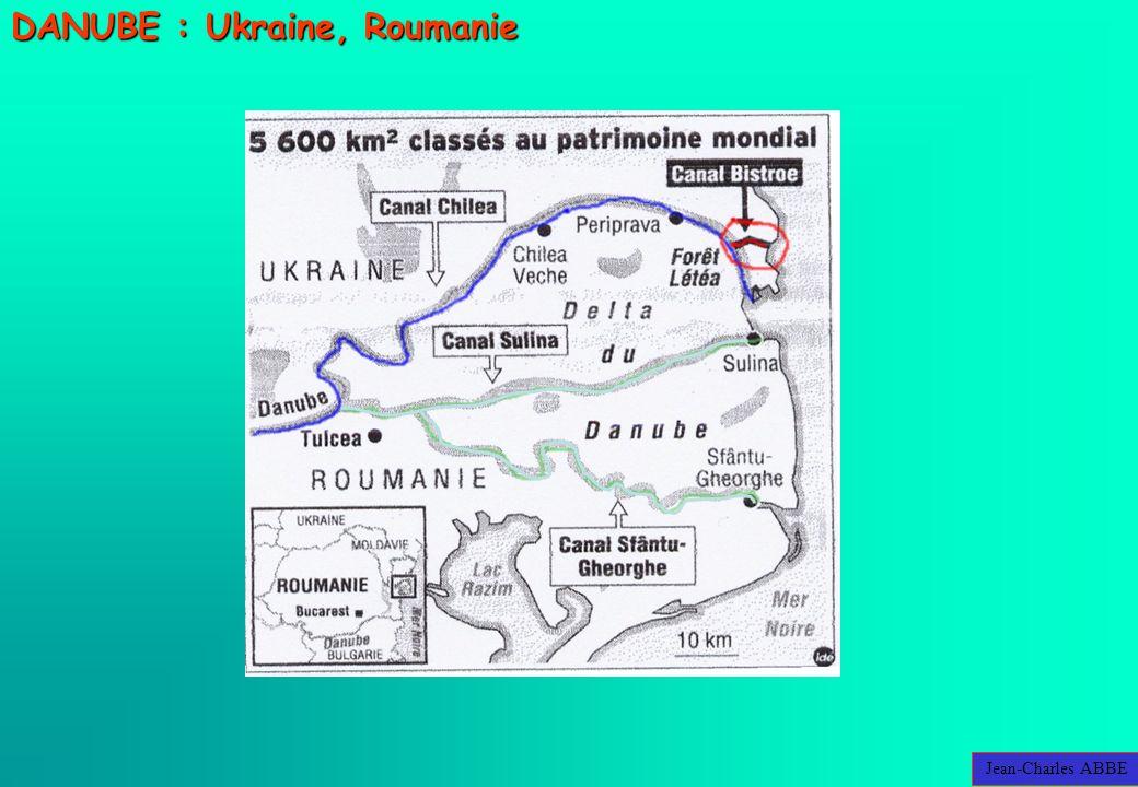 Jean-Charles ABBE DANUBE : Ukraine, Roumanie
